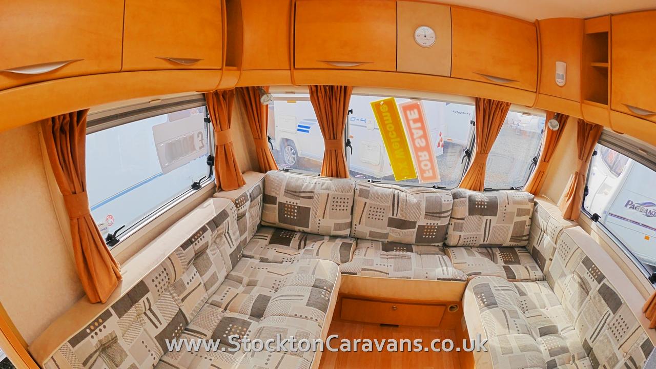 Bailey Senator Series 6 California Stockton Caravan Storage