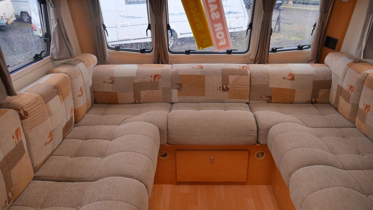 Bailey Pegasus 534 Fixed Bed 4 Berth Caravan Stockton